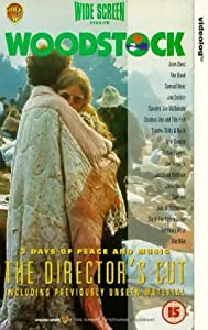 Woodstock (The Director's Cut) [VHS]