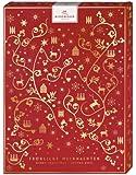 Niederegger Adventskalender Motiv 'Ornamentik', 1er Pack (1 x 500 g)