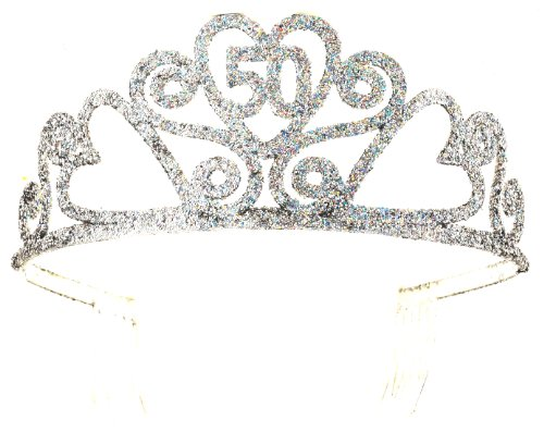Forum Novelties 50th Birthday Glitter Tiara