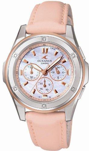 CASIO (カシオ) 腕時計 OCEANUS オシアナス Ladies Line レディースライン タフソーラー 電波時計 OCW-60DLJ-4AJF レディース