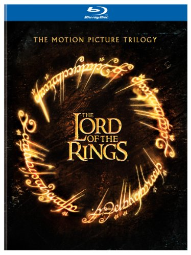 Cover art for  The Lord of the Rings: The Motion Picture Trilogy (The Fellowship of the Ring / The Two Towers / The Return of the King Theatrical Editions) [Blu-ray]