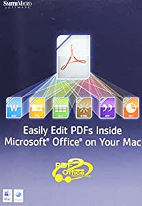 PDF2OFFICE FOR OFFICE (MAC 10.4.X OR LATER)