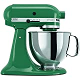 KitchenAid KSM150PSBL Artisan 5-Quart Stand Mixer, Bayleaf