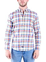 TIME OF BOCHA Camisa Hombre (Multicolor)