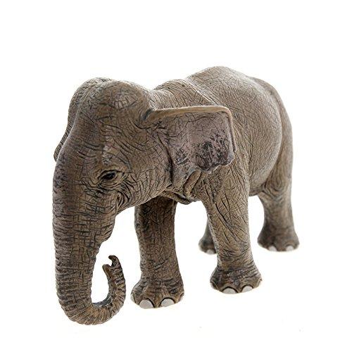 Schleich Asian Female Elephant Toy Figure - 1