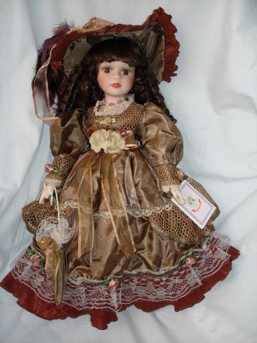 Porcelain Collector Doll, Sweet Georgia, 16