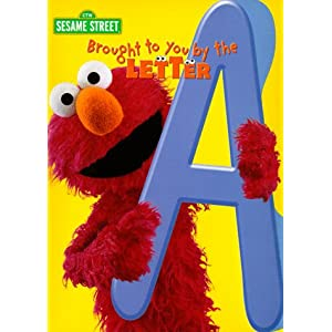 Brought to You by the Letter A--Coloring Book (Sesame Street)