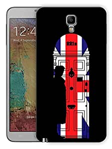 "Humor Gang 221B Sherlock Door Printed Designer Mobile Back Cover For ""Samsung Galaxy Note 3"" (3D, Matte, Premium Quality Snap On Case)"
