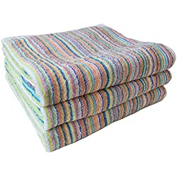 "Cyberl ""Samurai Rainbow"" Bath Towel, Set of 3"