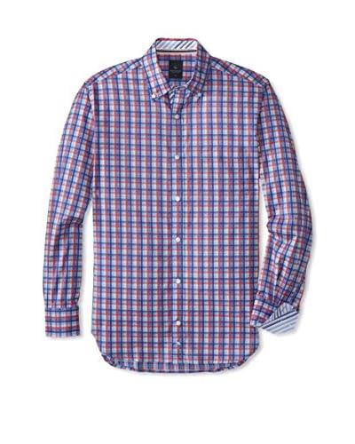 TailorByrd Men's Watson Check Long Sleeve Shirt