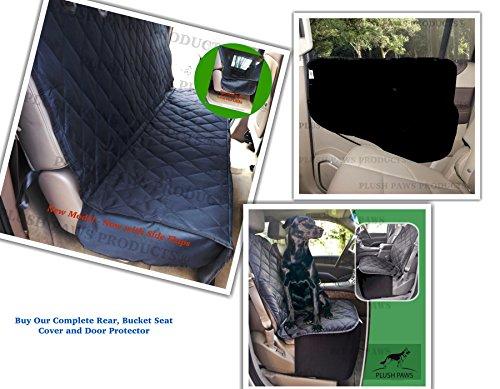 Plush Paws CoPilot Pet Car Seat Cover for Bucket Seats with Bonus