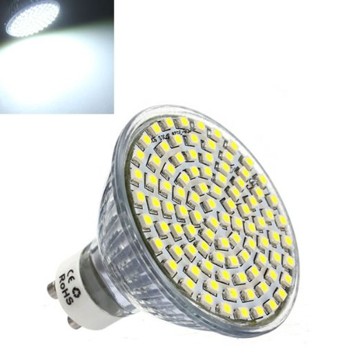 Gu10 Led Spot Light Bulb 5W Pure White 3528 Smd Lamp Ac 220V
