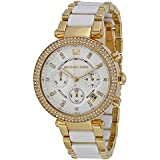 Michael Kors Watches Parker Chronograph Stainless Steel Watch