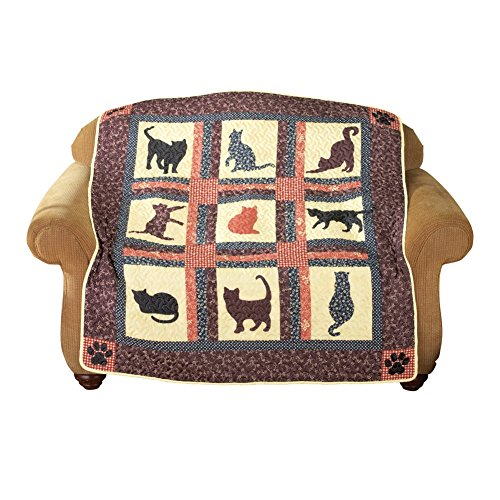 Pet Cat Throw Quilt (Quilts Sale compare prices)