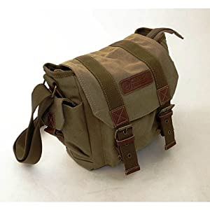 Yitao Deal Canvas Dslr SLR Camera Shoulder Bag Backpack Rucksack Bag for Sony Canon Nikon Olympus 23cm X 23cm X 12cm