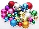 Xmasclub オーナメント ボール 【36個セット】 クリスマス/ツリー/リース/飾り/パーティーグッズ ball36