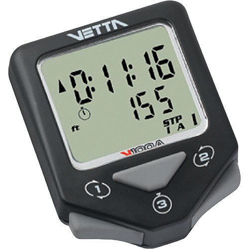 Vetta V100A WL2X Wireless Speed and Cadence with Altimeter Cycling Computer