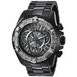 Invicta Men's 'Excursion' Quartz Titanium and Stainless Steel Casual Watch, Color:Black (Model: 24269)