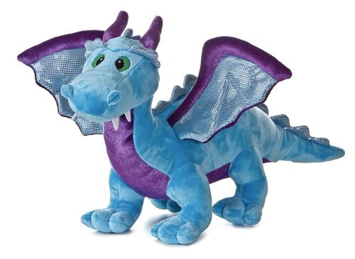 Aurora Plush 14″ Blue Dragon with sound