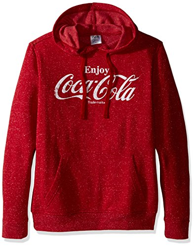 coca-cola-mens-enjoy-sweatshirt-red-speckle-large