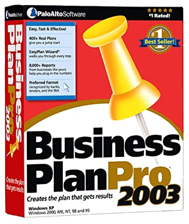 Business PlanPro 2003