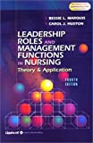 img - for Leadership Roles and Management Functions in Nursing: Theory and Application book / textbook / text book
