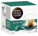 Nescafé Dolce Gusto Espresso Ristretto 16 Capsules (Pack of 3, Total 48 Capsules)