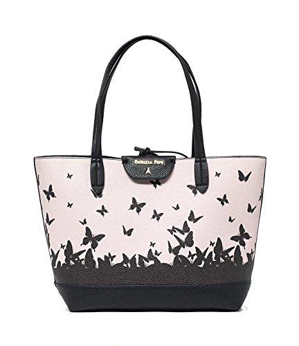 PATRIZIA PEPE BAG 2V5452A2EP-H291 Rose/Blk butterfly