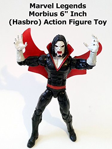"Review: Marvel Legends Morbius 6"" Inch (Hasbro) Action Figure Toy"