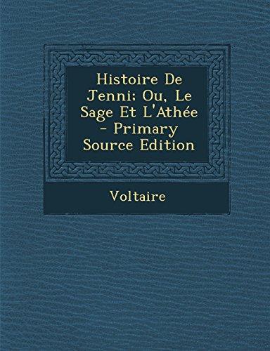 Histoire De Jenni; Ou, Le Sage Et L'Athée