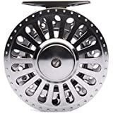 "5/6 3.54"" 2BB+1RB METAL Fly Wheel LARGE ARBOR Design PRECISION MACHINED Fly Reel From BAR-STOCK ALUMINUM W/ INCOMING..."