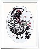 オリムパス製絲 クロスステッチ刺しゅうキット オノエ・メグミ 「赤毛のアンの物語」 パフスリーのドレス 7453