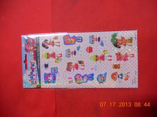Lalaloopsy Stickers (4 Sheets) over 48 Stickers - 1