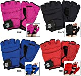 Gungfu ProForce Airprene Grappling Glove Wraps – Color: Black, Size: Medium