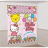 5-Piece Hello Kitty Balloon Dreams Scene Setter Set, Multicolored
