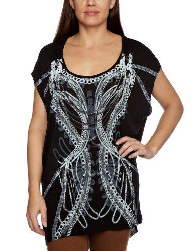 Firetrap Lucy-Links Printed Women's T-Shirt Black