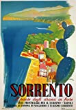 TW22 Vintage 1942 Italy Sorrento Campania Italian Travel Poster Re-print - A4 (297 x 210mm) 11.7