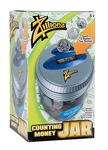 Zillionz Electronic Money Jar (Digital Coin Bank compare prices)