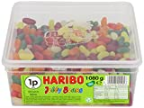 Haribo Jelly Beans Count Line Drum (Pack of 2)