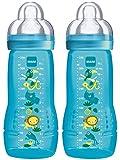 MAM 99950500 - Easy Active Baby Bottle 330 ml, Doppelpack...