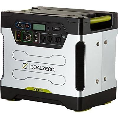 Goal Zero 31901 Yeti 1250 Silver/Black XX-Large Solar Generator