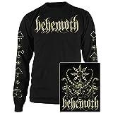 Long Sleeve: Behemoth- Demon (Front/Back) Longsleeve Shirt Size M