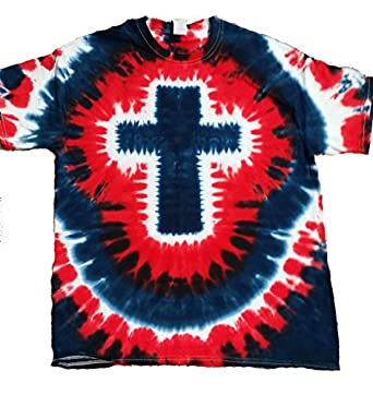 buy cool shirts mens christian nation tie dye