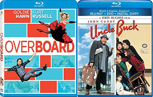 Uncle Buck + Overboard [Blu-ray] Fun Comedy 80's movie Set