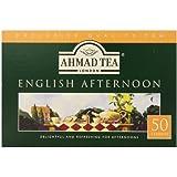 Ahmad Tea English Afternoon Teabag, 50 Count (Pack of 12)