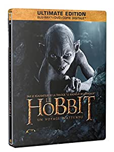 Le Hobbit : Un voyage inattendu [Ultimate Edition - Blu-ray + DVD + Copie digitale - SteelBook Gollum]