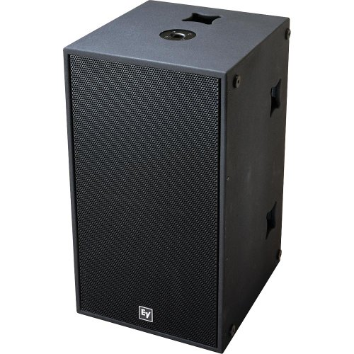 """Electrovoice Qrx218S Dual 18"""" Subwoofer With Rig - Black"""