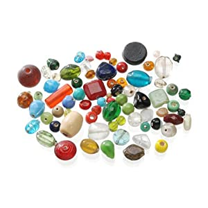 bulk buy darice diy crafts 1 lb glass beads. Black Bedroom Furniture Sets. Home Design Ideas