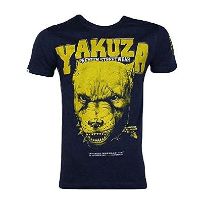 Yakuza Premium T-Shirt 1800 blau meliert