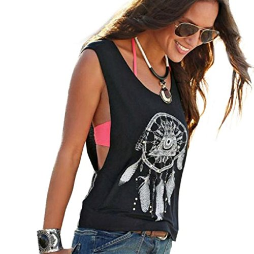 jacky-dreamcatcher-printed-sleeveless-tops-crop-tank-vest-shirt-medium